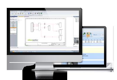 elecworks Onboard para el diseño eléctrico de mazos de cables (harness)
