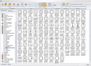Inserción dinámica de símbolos en elecworks P&ID