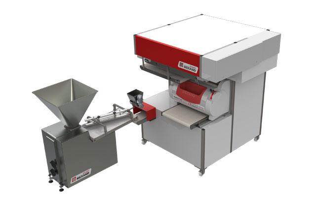 Máquina de pan diseñada con elecworks