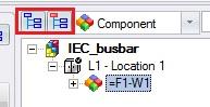 Filtros de componentes en elecworks
