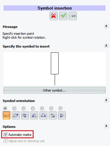Numeración automática del símbolo