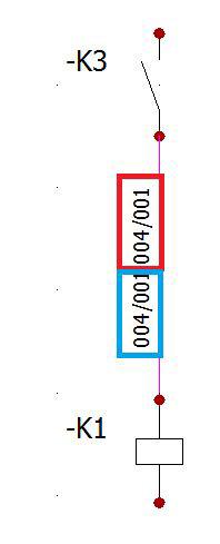 Marcas de cables en elecworks