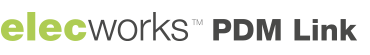 logo elecworks PDM link