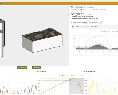 Análisis componentes en 3D en archelios Pro