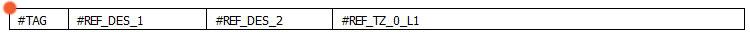 Tipo de símbolo etiqueta de conexión en elecworks