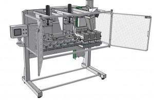 Ejemplo de máquina de llenado de bandejas