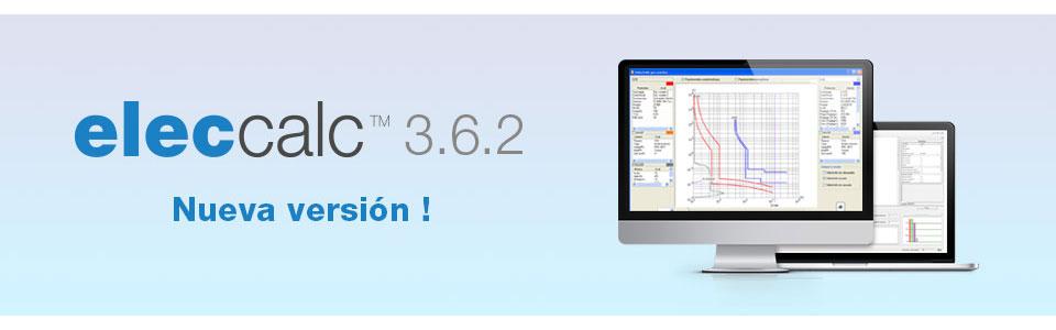 Nueva versión de elec calc 3.6.2