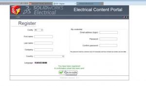 SolidWorks Electrical content portal