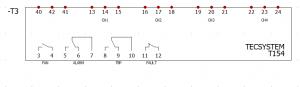 Símbolo insertado en esquema y con referencia asignada en elecworks