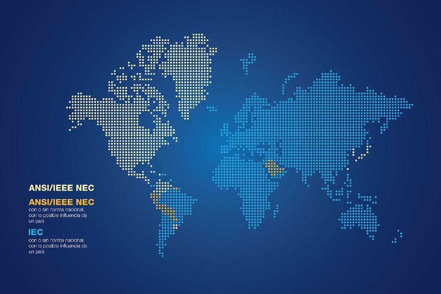 Normas y regulaciones internacionales IEC/ANSI