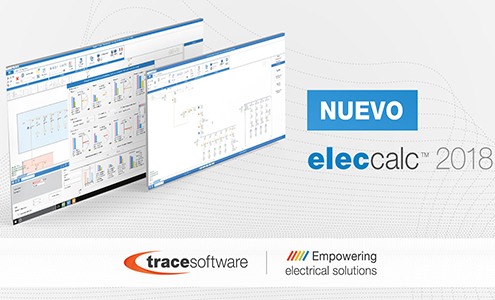 Trace Software International presenta elec calc™ 2018