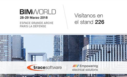 Trace Software International participará en BIM WORLD en París