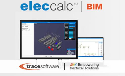 El software elec calc ™ BIM está disponible oficialmente para la venta T6race Software International