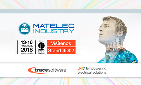 Trace Software International participará en la feria Matelec Industry