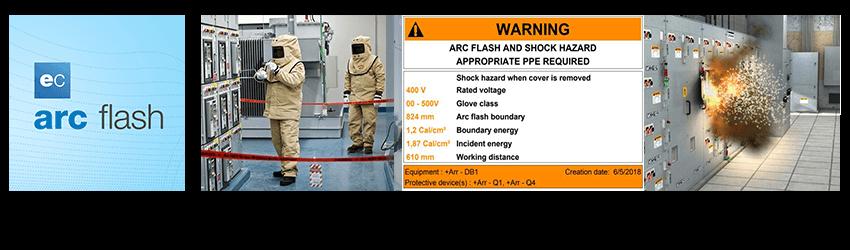 El módulo Arc flash Trace Software International