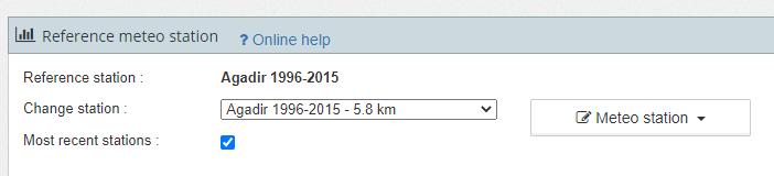 Actualización de las bases de datos meteorológicas en archelios Pro