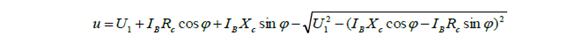 Representación vectorial de la caída de tensión