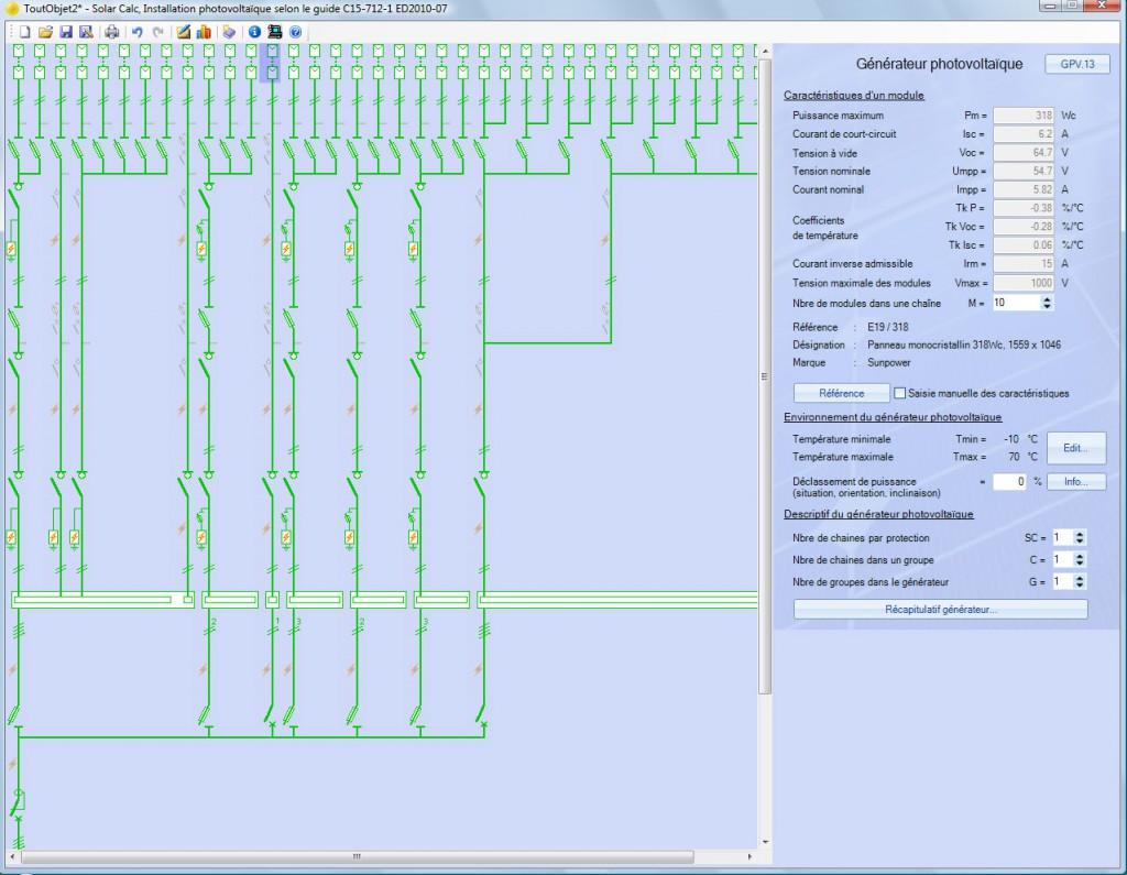 archelios calc logiciel de calcul des installations pv. Black Bedroom Furniture Sets. Home Design Ideas