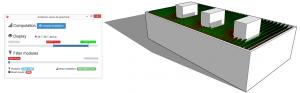 Calcul de l'irradiation solaire sur archelios pro