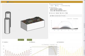 Simulation en 3D sur archelios pro