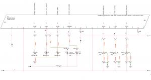 Schéma de carte automate dans elecworks