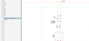 Utilisation de PDF intelligents dans elecworks : navigation dans l'arborescence du projet