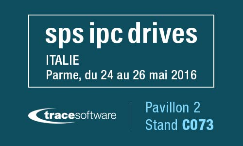 Trace Software au SPS Ipc Drives, automatismes électriques in Parma