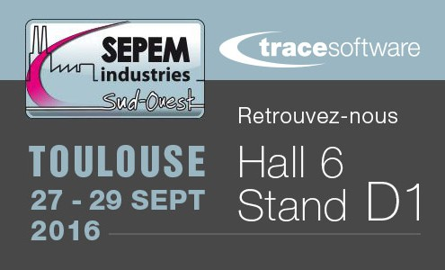 Trace Software au Sepem Toulouse