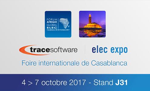 Trace Software International au rendez-vous Elec Expo à Casablanca