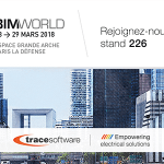 Trace Software International expose à BIM WORLD Paris