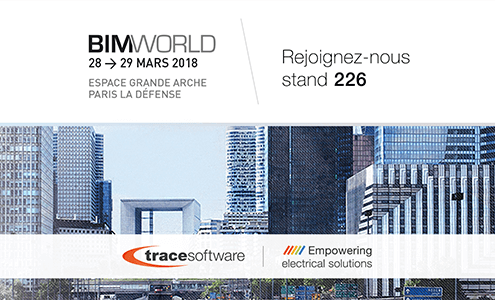 Trace Software International expose à BIM WORLD Paris