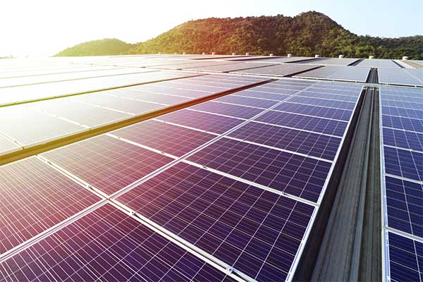 champs photovoltaique