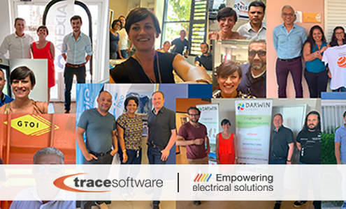 trace software La Réunion