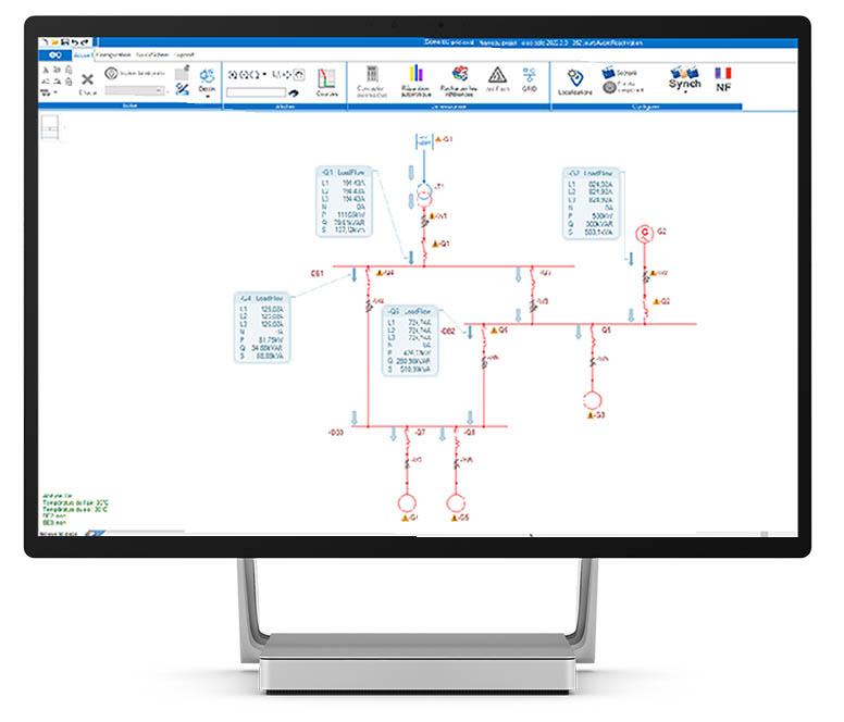 elec calc Grid - Réseaux multi-sources maillés