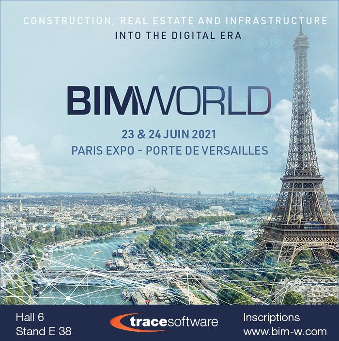Bim World_Trace Software Stand E38 HALL6