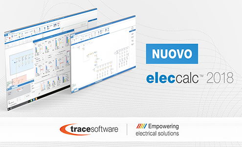 Trace Software International presenta elec calc ™ 2018