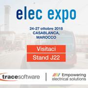 Trace Software International conferma la sua partecipazione alla prossima edizione di Elec Expo
