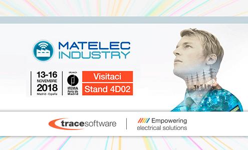 Trace Software International parteciperà a Matelec Industry