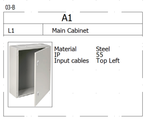 Main cabinet elecworks™ by Trace Software International