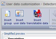 User data management in elecworks