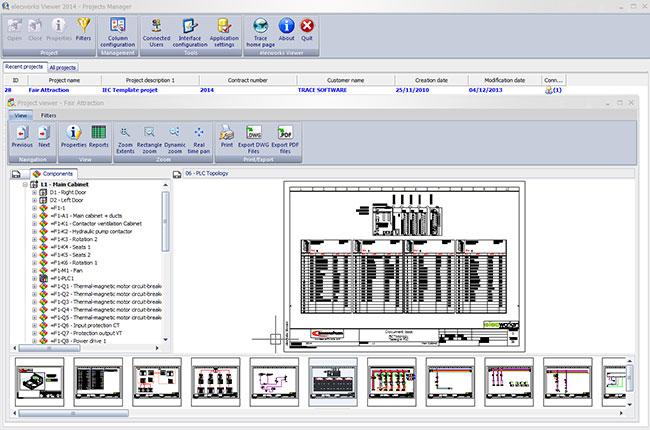 elecworks™ Viewer, nouveau viewer de projets électriques