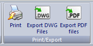 elecworks™ Viewer to print, export to DWG or PDF navigable drawings