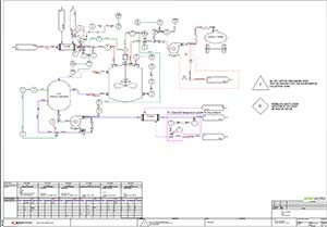 elecworks PID piping diagram design