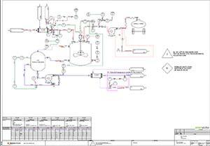 elecworks PID piping diagram design