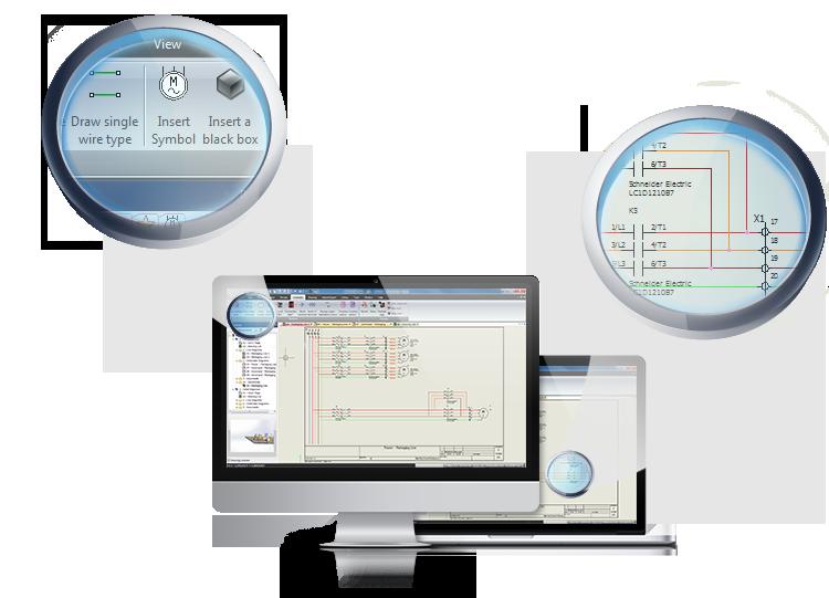 elecworks user interface