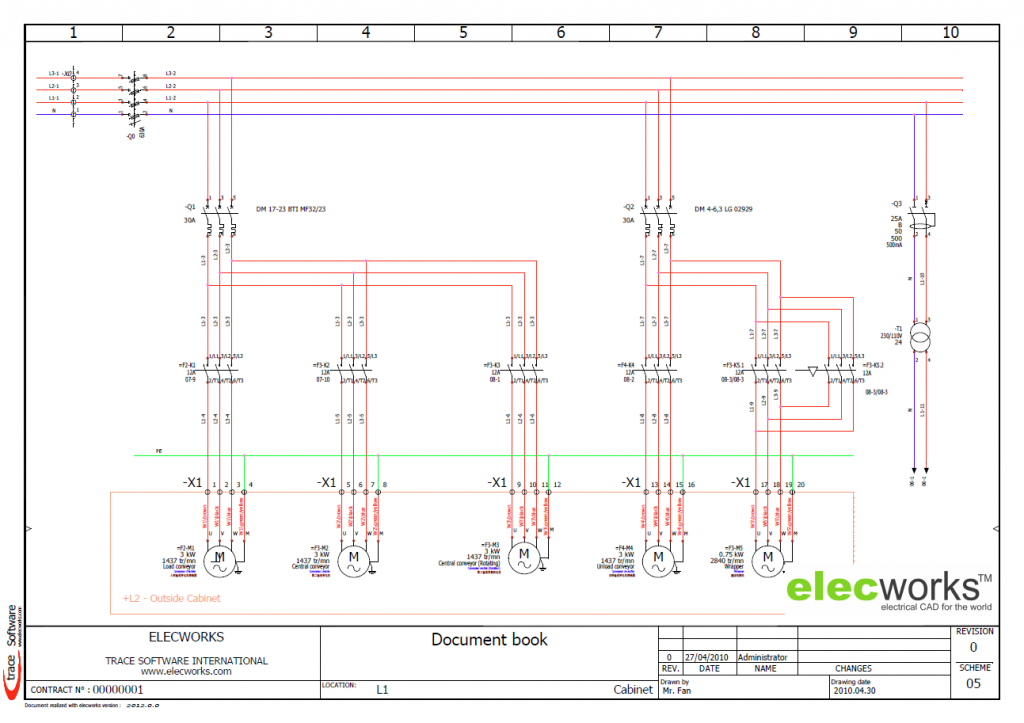 Electrical design software elecworks Diagram drawing software free download