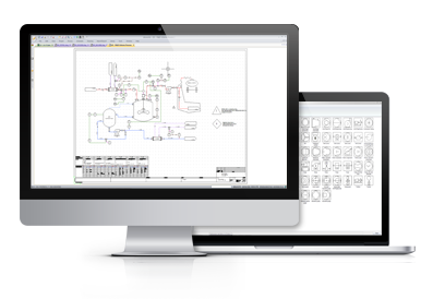 Software for Piping and Instrumentation diagrams design