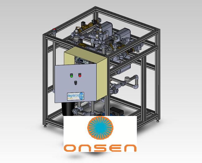 Onsen-machine