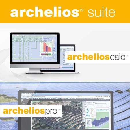 Archelios suite for photovoltaic design