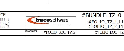 Customized title block in elecworks
